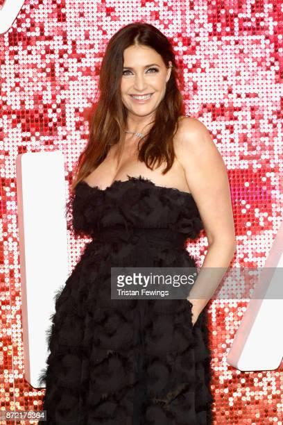 Lisa Snowdon arriving at the ITV Gala held at the London Palladium on November 9 2017 in London England