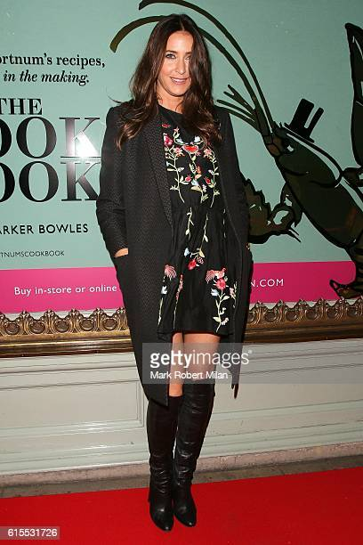 Lisa Snowdon attending The Cook Book by Parker Bowles launch at Fortnum and Mason on October 18 2016 in London England