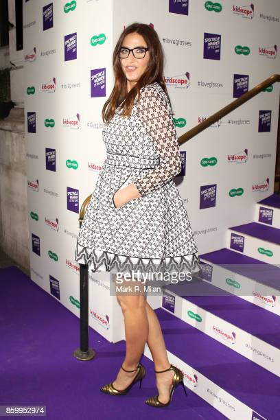 Lisa Snowdon attending the Specsavers 'Spectacle Wearer of the Year' awards on October 10 2017 in London England