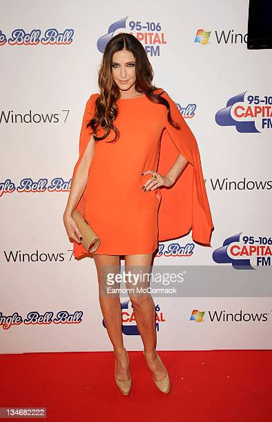 Lisa Snowdon attends day one of Jingle Bell Ball at O2 Arena on December 3 2011 in London England