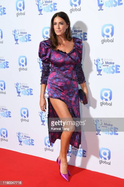 Lisa Snowdon attends Global's Make Some Noise Night 2019 at Finsbury Square Marquee on November 25 2019 in London England