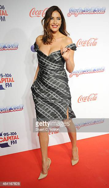 Lisa Snowdon attends on day 1 of the Capital FM Jingle Bell Ball at 02 Arena on December 7 2013 in London England