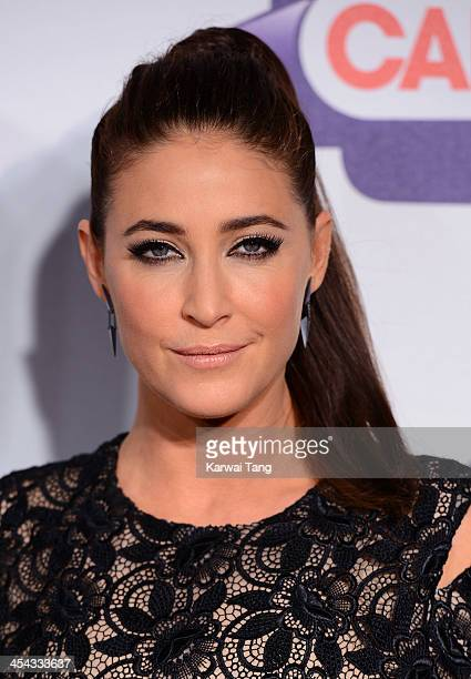 Lisa Snowdon attends on day 2 of the Capital FM Jingle Bell Ball at the 02 Arena on December 8 2013 in London England