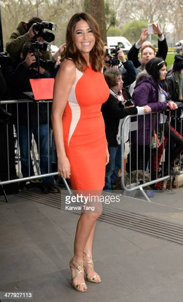 Lisa Snowdon attends the 2014 TRIC Awards at The Grosvenor House Hotel on March 11 2014 in London England