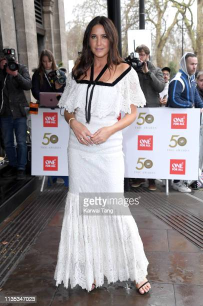 Lisa Snowdon attends the 2019 'TRIC Awards' held at The Grosvenor House Hotel on March 12, 2019 in London, England.