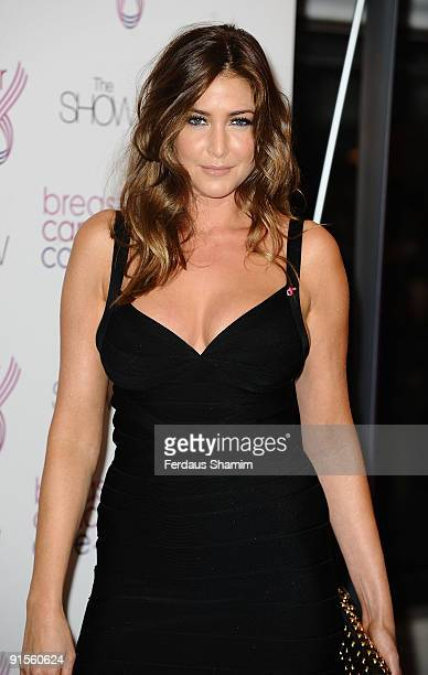 Lisa Snowdon attends the Breast Cancer Care 2009 Fashion Show at Grosvenor House on October 7 2009 in London England