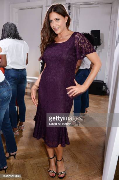 Lisa Snowdon attends the JDW Midster Live AW18 Catwalk Show and party presented by JD Williams during London Fashion Week September 2018 at One...