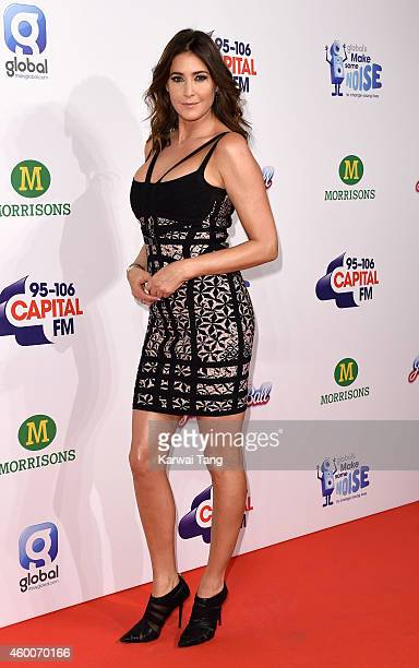 Lisa Snowdon attends the Jingle Bell Ball at 02 Arena on December 6 2014 in London England
