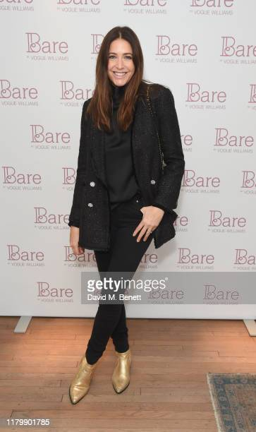 Lisa Snowdon attends the launch event for Vogue Williams' tan range now available in the UK in time for the festive party season on November 4 2019...