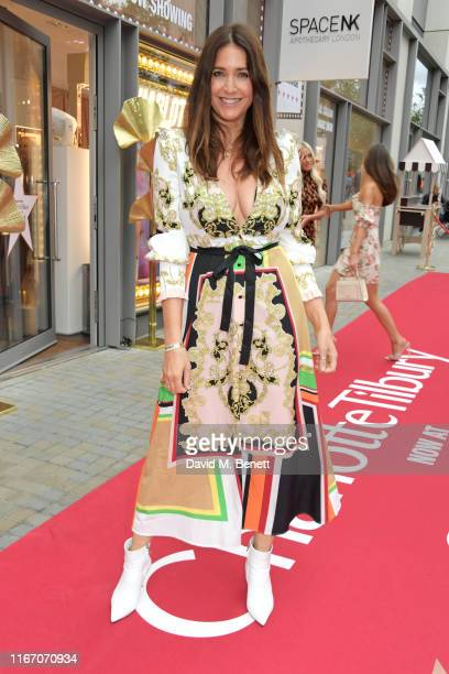 Lisa Snowdon attends the premiere party for the launch of awardwinning brand Charlotte Tilbury at the Space NK Kings Cross store on September 9 2019...