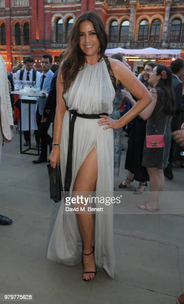 Lisa Snowdon attends the Summer Party at the VA in partnership with Harrods at the Victoria and Albert Museum on June 20 2018 in London England
