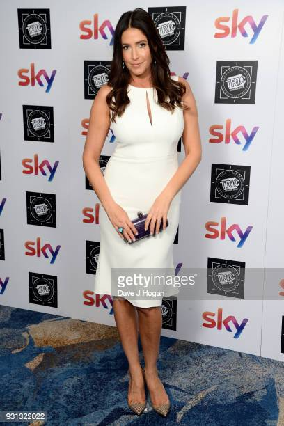 Lisa Snowdon attends the TRIC Awards 2018 held at The Grosvenor House Hotel on March 13 2018 in London England