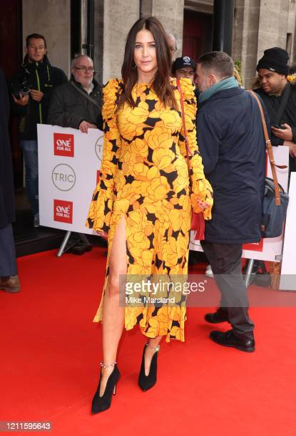 Lisa Snowdon attends the TRIC Awards 2020 at The Grosvenor House Hotel on March 10, 2020 in London, England.