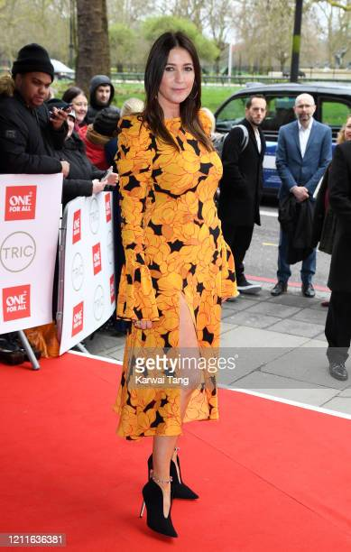 Lisa Snowdon attends the TRIC Awards 2020 at The Grosvenor House Hotel on March 10 2020 in London England