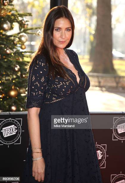 Lisa Snowdon attends the TRIC Awards Christmas lunch at Grosvenor House on December 12 2017 in London England