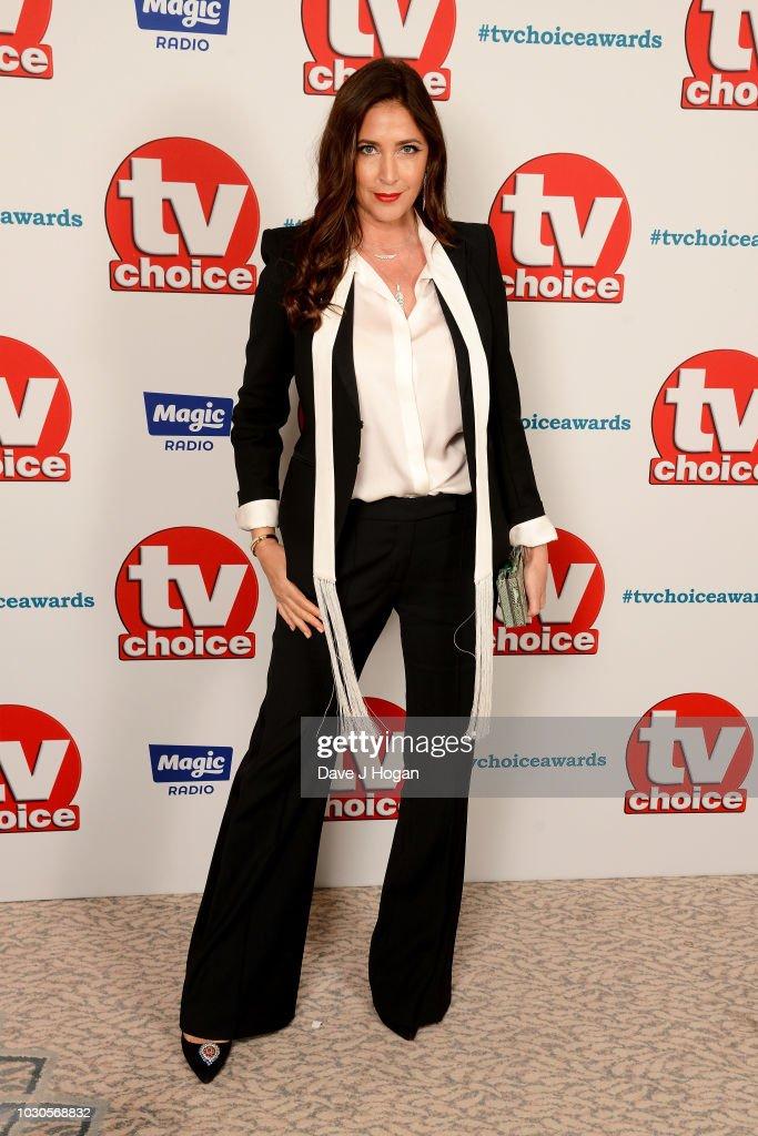 TV Choice Awards - VIP Arrivals : News Photo