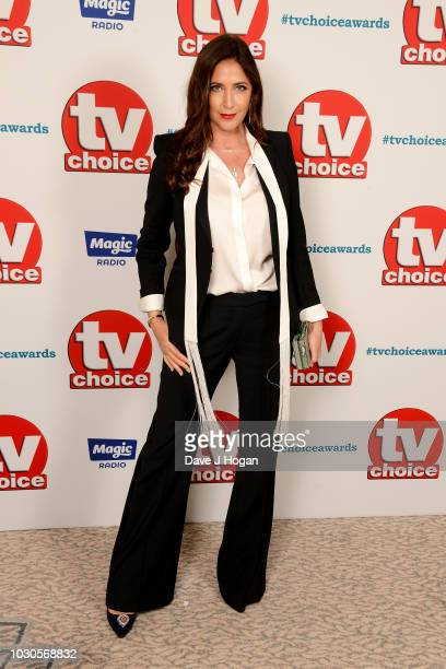 Lisa Snowdon attends the TV Choice Awards at The Dorchester on September 10 2018 in London England