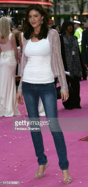 Lisa Snowdon during Confetti London Premiere Outside Arrivals at Vue Leicester Square in London Great Britain