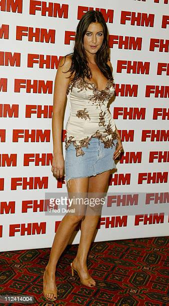 Lisa Snowdon during FHM Top 100 Sexiest Women 2004 at Guild Hall in London Great Britain