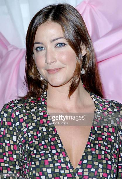 Lisa Snowdon during In Her Shoes Auction in Aid of Breast Cancer Photocall at Sketch in London Great Britain