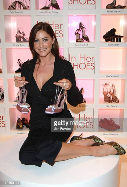 Lisa Snowdon during In Her Shoes London Premiere After Party at grosvenor House Ballroom in London Great Britain