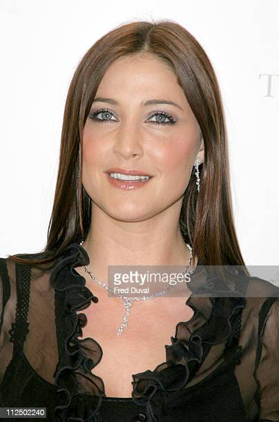 Lisa Snowdon during Lisa Snowdon Opens the Ernest Jones Store on King's Road at King's Road in London Great Britain