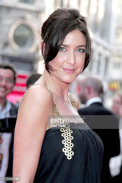 Lisa Snowdon during Live Free or Die Hard London Premiere Red Carpet at Empire Leicester Square in London Great Britain