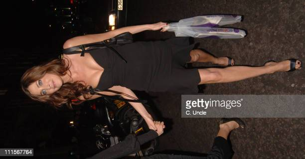 Lisa Snowdon during The Times BFI 49th London Film Festival Good Night and Good Luck Premiere and Closing Night Gala After Party at Floradita in...