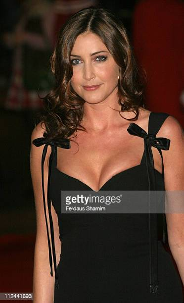 Lisa Snowdon during The Times BFI 49th London Film Festival Good Night and Good Luck Closing Gala Night at Odeon Leicester Square in London Great...
