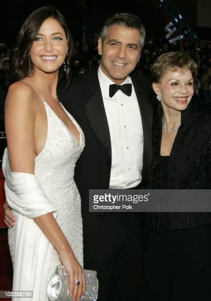 Lisa Snowdon George Clooney and Nina Warren Clooney