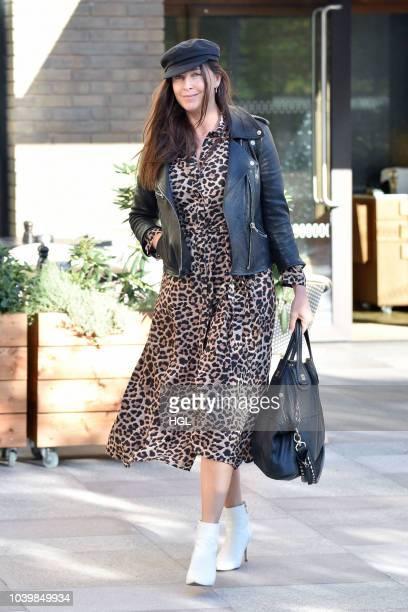 Lisa Snowdon seen at the ITV Studios on September 25 2018 in London England