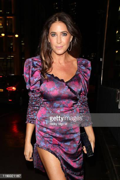 Lisa Snowdon seen attending Global's Make Some Noise Night Gala at Finsbury Square on November 25 2019 in London England