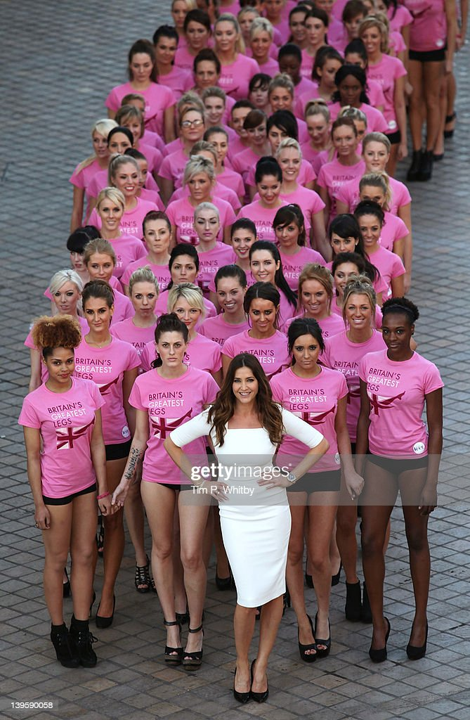 Veet Easywax 'Britain's Greatest Legs' - Photocall