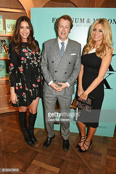 "Lisa Snowdon, Tom Parker Bowles and Tess Daly attend the launch of ""Fortnum & Mason: The Cook Book"" by Tom Parker Bowles at Fortnum & Mason on..."