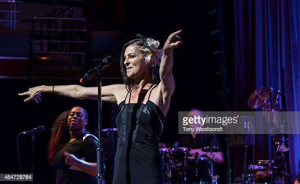 Lisa Stansfield at Birmingham Symphony Hall on September 5 2014 in Birmingham England