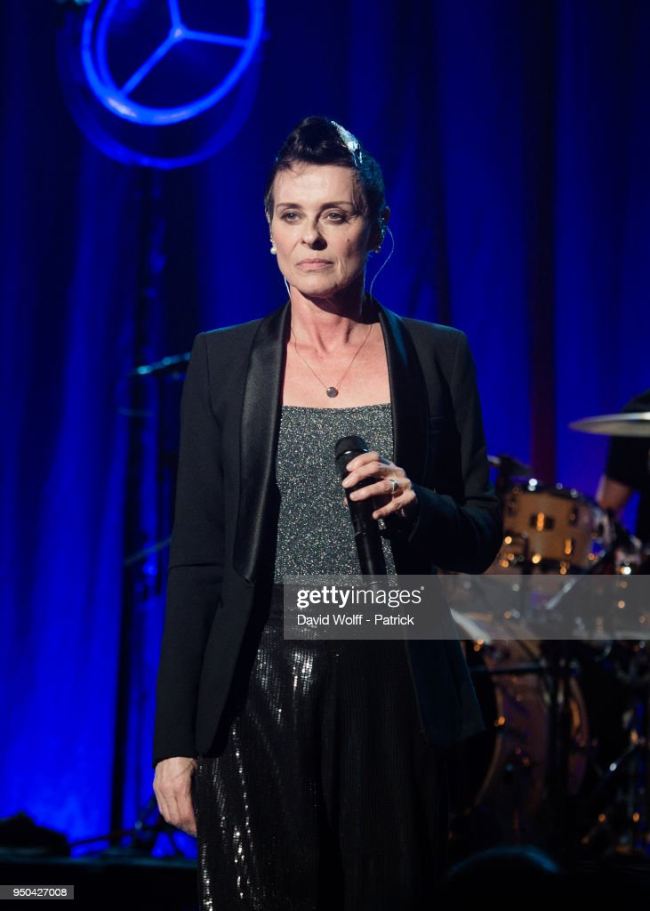 Lisa Stansfield  Performs At Le Trianon In Paris
