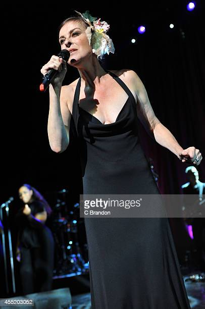 Lisa Stansfield performs on stage at the Royal Festival Hall on September 10, 2014 in London, United Kingdom.