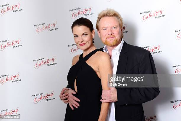 Lisa Stewart and Lee Roy Parnell attend the openning of CabaRay on January 10 2018 in Nashville Tennessee