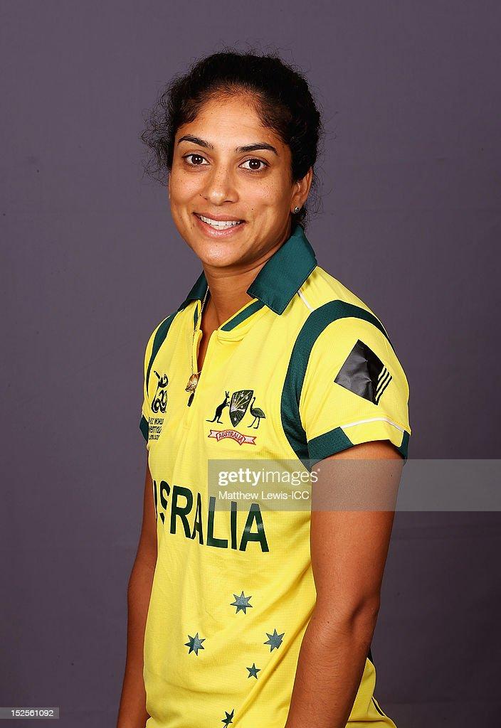 Australia Women Portrait Session - ICC World Twenty20 2012