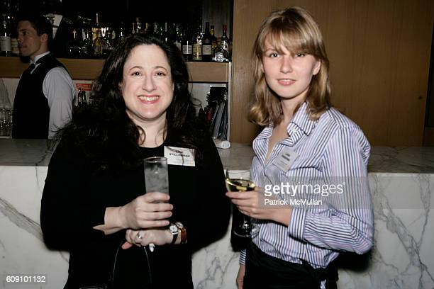 Lisa Stillerman and Lana Parshina attend Ceslie The Women's Network To Toast Victoria Rowell at World Bar on May 10 2007 in New York City