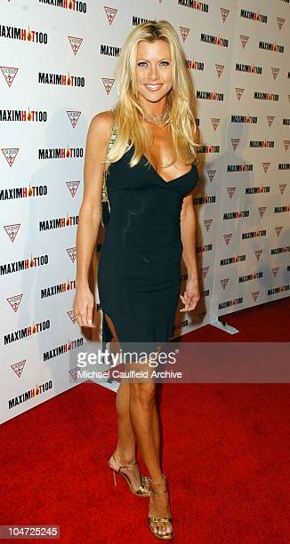 Lisa Sturgeon during Maxim Hot 100 Party Arrivals at Yamashiro in Hollywood California United States