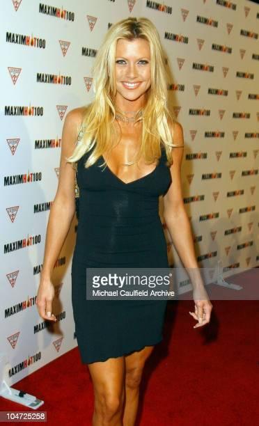 Lisa Sturgeon during Maxim Hot 100 Party Arrivals at Yamashiro in Hollywood California United States