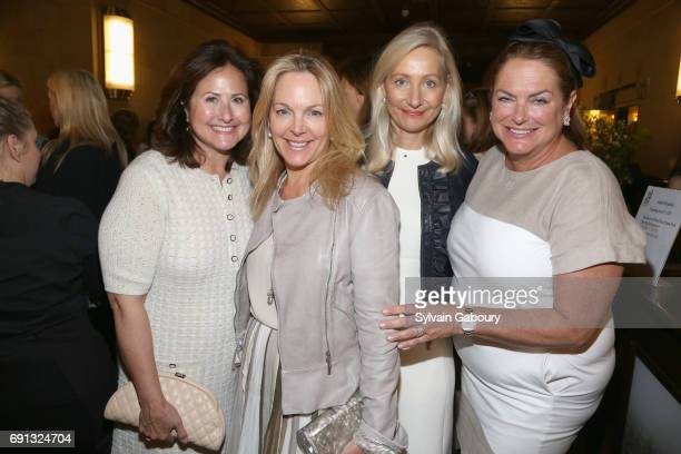 Lisa Tananbaum Cynthia Curry Irene Ponce and Lisa Wallace attend Museum of the City of New York Spring Symposium Luncheon on June 1 2017 in New York...