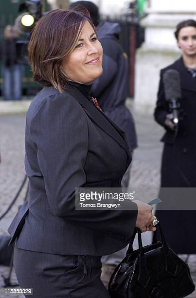 Lisa Tarbuck during Ronnie Barker Memorial Service at Westminster Abbey March 3 2006 at Westminster Abbey in London Great Britain