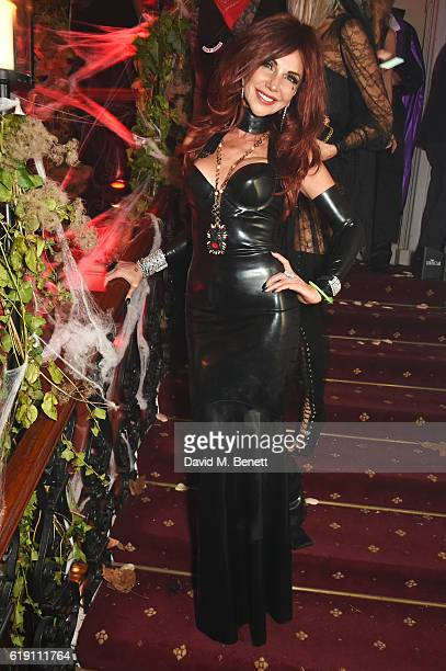 Lisa Tchenguiz attends Halloween at Annabel's at 46 Berkeley Square on October 29 2016 in London England