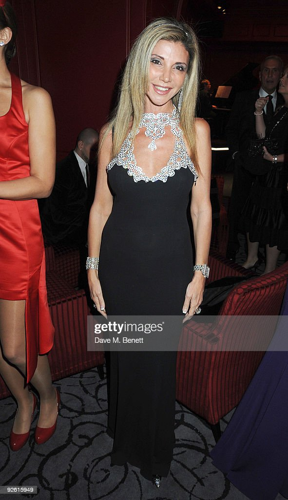 Lisa Tchenguiz attends the opening party of The Red Room, on November 2, 2009 in London, England.