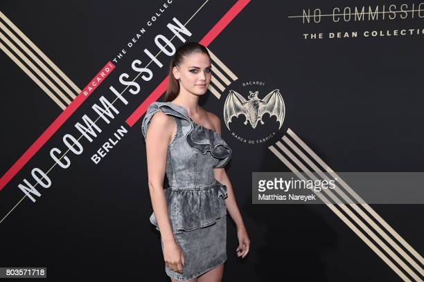 Lisa Tomaschewsky attends Bacardi X The Dean Collection Present No Commission Berlin on June 29 2017 in Berlin Germany
