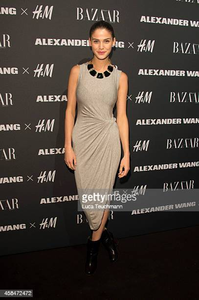 Lisa Tomaschewsky attends the Alexander Wang X HM collection preshopping event at Platoon Kunsthalle on November 5 2014 in Berlin Germany