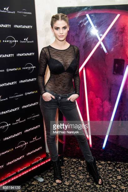 Lisa Tomaschewsky attends the Pantaflix Party during the 67th Berlinale International Film Festival Berlin at the Grand on February 13, 2017 in...