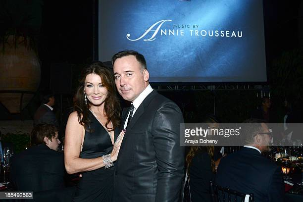 Lisa Vanderpump and David Furnish attend 'An Evening Under The Stars' Benefiting The LA Gay Lesbian Center on October 19 2013 in Los Angeles...